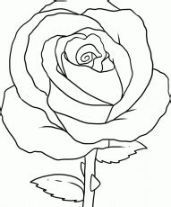 rose petal coloring page rose with petals coloring page download free rose with