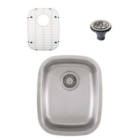 ticor s805 undermount stainless steel single bowl kitchen
