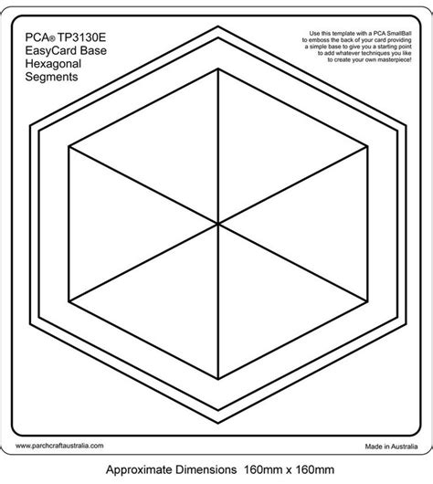 hex hex card template 29 best pca templates images on templates