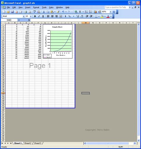 adjust printable area excel basic computer operation tutorial