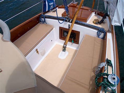 inexpensive boat cushions pearson triton 381 glissando cockpit cushions
