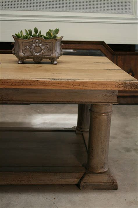 Coffee Table Restoration Reloved Rubbish Restoration Hardware Coffee Table Update