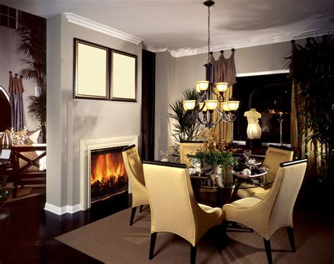 Dining Room Ideas With Fireplace Dining Room Ideas In House House Interior