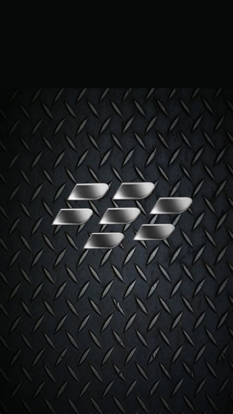 black wallpaper z30 blackberry z30 wallpapers metal plate logo