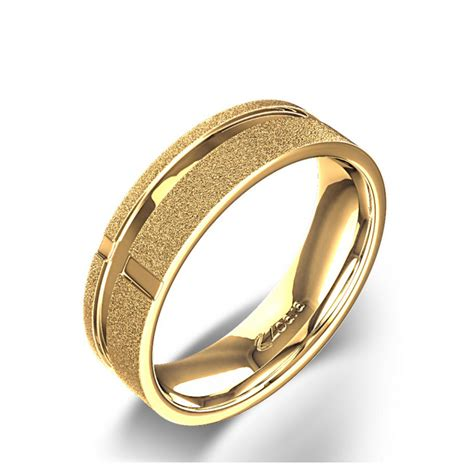 Christian Wedding Rings by Cross Of Strength Christian Wedding Ring In 14k Yellow Gold
