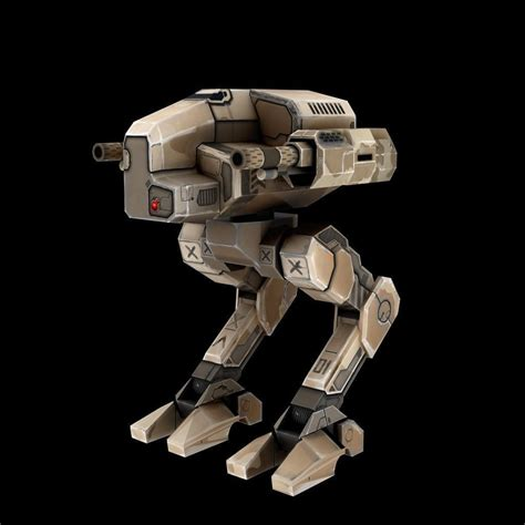 Mecha Model mech robot 3d model 3d printable max cgtrader