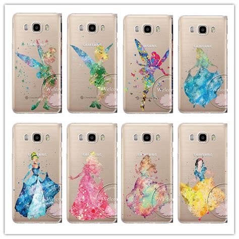 Softcase Disney For Samsung A3 A5 J1 2 Galaxy V Galaxy Ace 4 aliexpress buy princess tinker bell mermaid cover for samsung galaxy a3 a5 a7 j1 j5