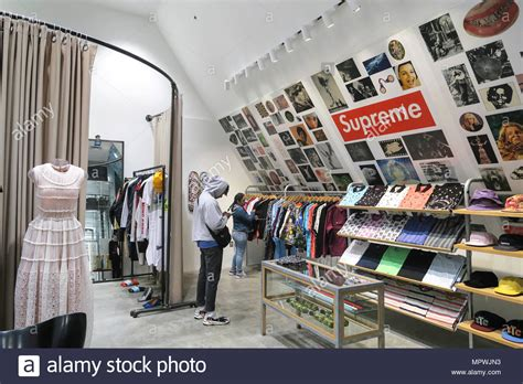 supreme store uk supreme store stock photos supreme store stock images