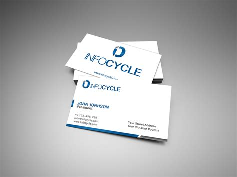 presentation cards templates custom card template 187 presentation card free card