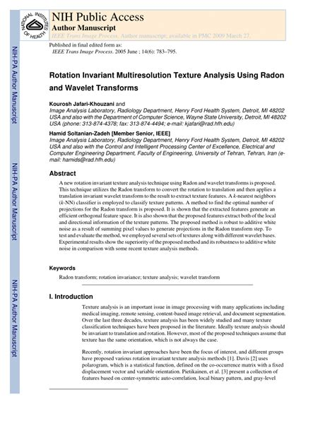 fringe pattern analysis using wavelet transforms rotation invariant multiresolution pdf download available
