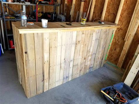 pallet work bench wooden pallets mailbox birdhouse