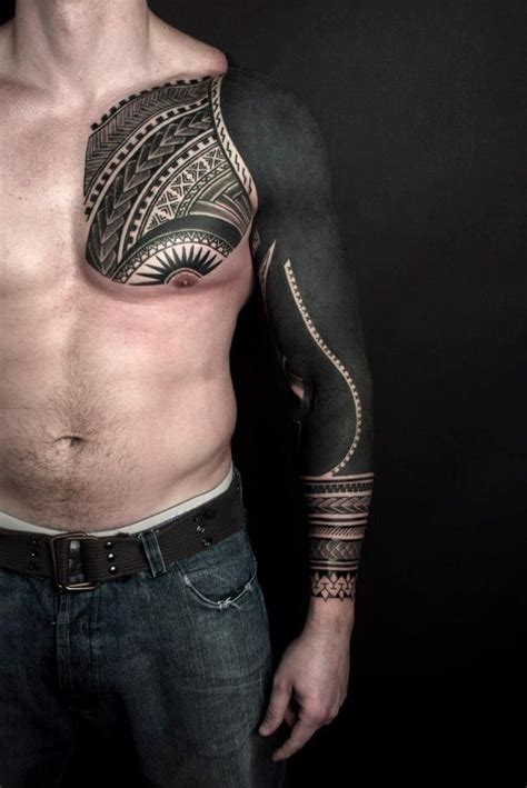 spanish tribal tattoos black sleeve for tatuajes tatuajes