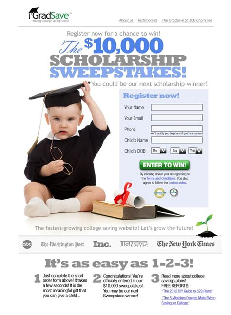 Win Free College Tuition Scholarship Sweepstakes - 33 best images about scholarships on pinterest high school students the funniest