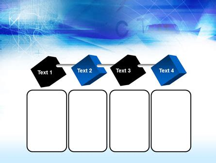 Blaue Powerpoint Vorlage abstrakte blaue flecken powerpoint vorlage hintergr 252 nde