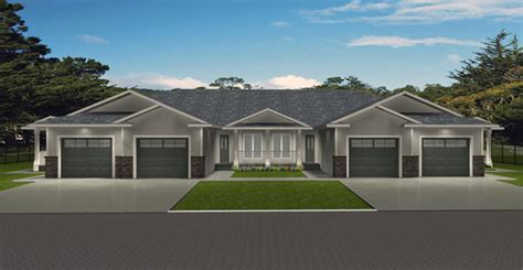 cost to build a 4 plex 4 plex plan 2011583 edesignsplans ca