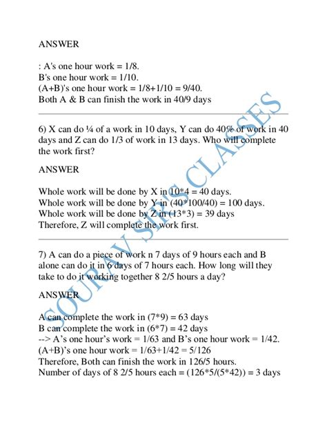Mba Banking And Finance Distance by Time And Work Time Speed And Distance For Cat Mat