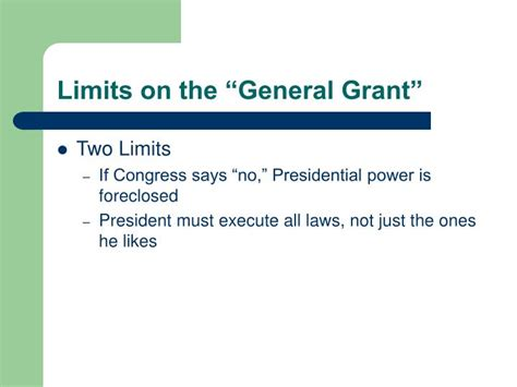 the limits of presidential power a citizen s guide to the books ppt presidential power powerpoint presentation id 1771170
