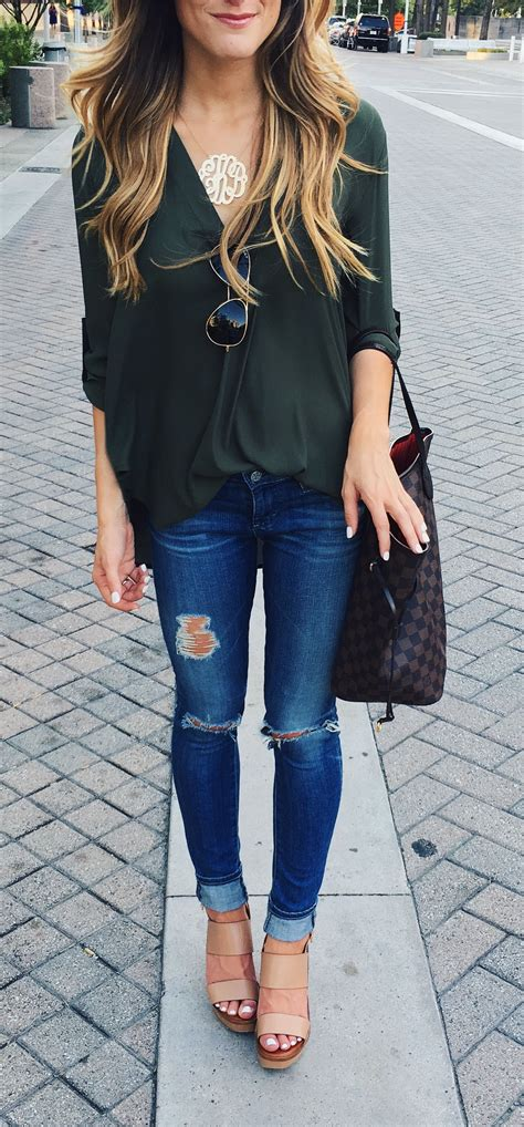 fall outfit  women simple fall outfits