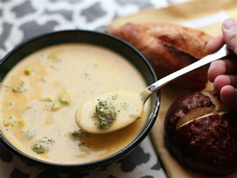 Soups On Broccoli Cheese Soup by Broccoli Cheese Soup Recipe Serious Eats