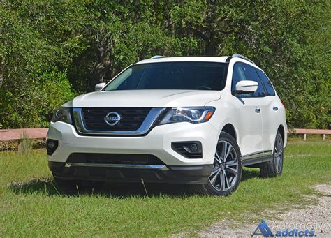 nissan pathfinder platinum 2017 nissan pathfinder platinum 4wd review test drive