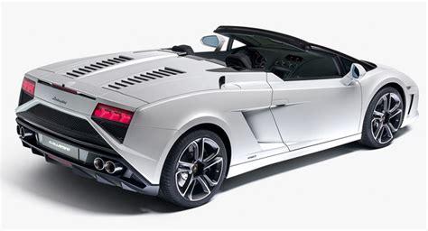 Lamborghini Model Range Lamborghini Unveils Refreshed 2013 Gallardo Spyder Range