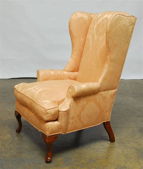 queen anne recliners sale queen anne mahogany wing chair for sale at 1stdibs