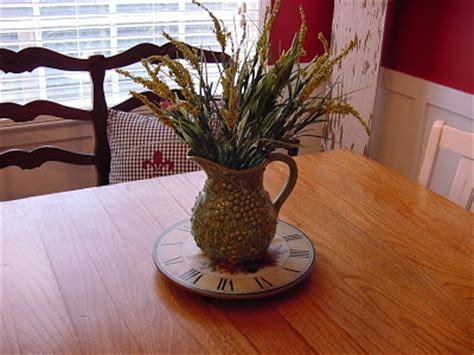 the happy homebody kitchen table centerpiece