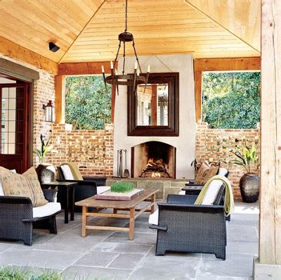 outdoor rooms with fireplaces daly essentials it s ac season but i m loving these