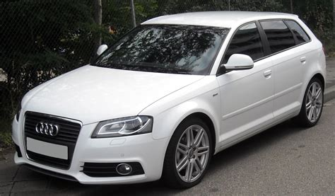 2012 audi a3 sportback 8p pictures information and