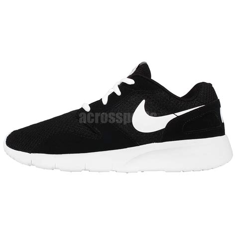 nike black and white running shoes nike kaishi black white boys youth womens