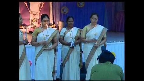 sv college of nursing l lighting ceremony with rev