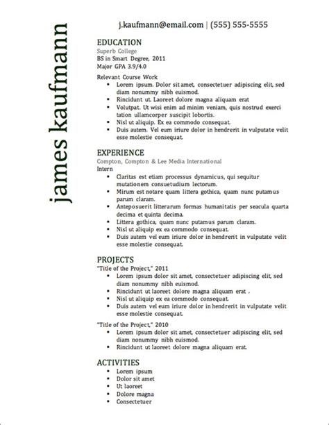 best resume templates and formats top 10 resume sles best resume gallery