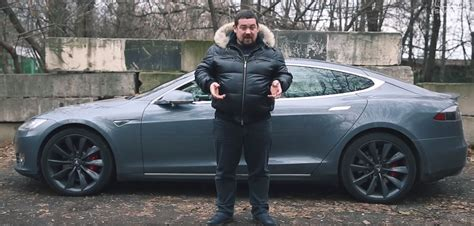 Tesla In Russia Tesla Model S Russia Style Test Drive The Green Optimistic