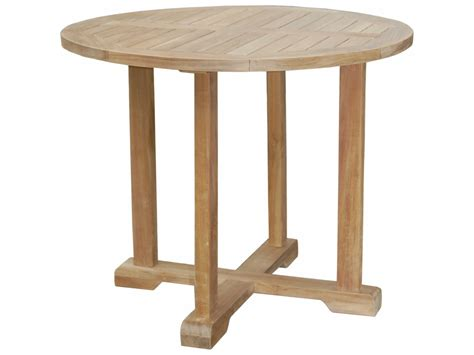 round table anderson anderson teak montage 35 bistro round table aktb3535