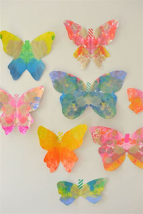 butterfly craft for hello wonderful 13 colorful butterfly crafts for