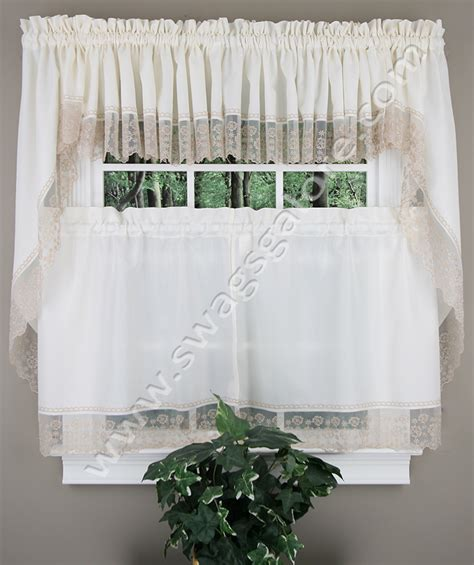 petunia curtain beige country kitchen curtains