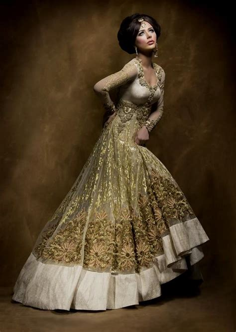 white indian wedding gowns