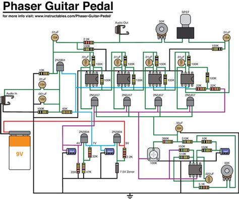 what do resistors do in guitar pedals phaser guitar pedal do it yourself