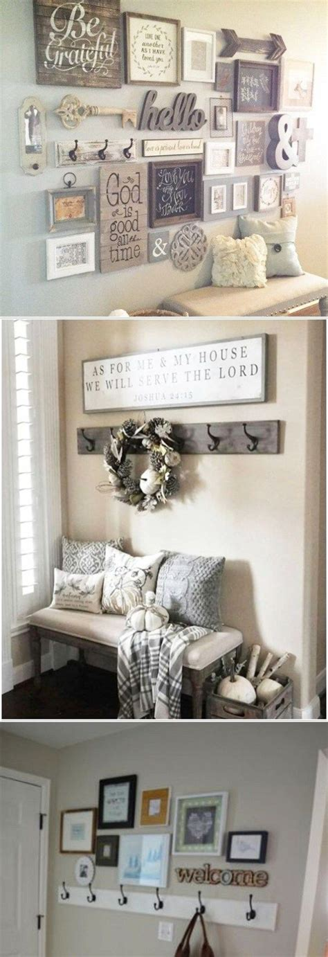 How Do You Decorate A Small Foyer