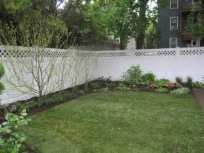 Simple Backyard Landscape Ideas Triyae Simple Backyard Landscaping Ideas Various Design Inspiration For Backyard