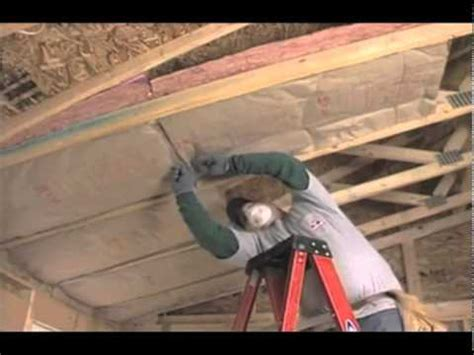 How To Install Insulation In Ceiling by Owens Corning Ceiling Batt Insulation