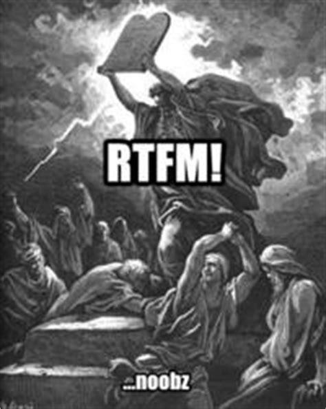 Rtfm Meme