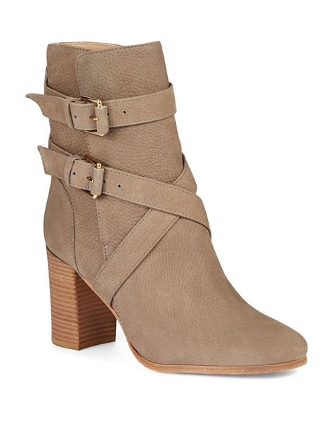 kate spade boots kate spade lexy ankle boots in gray grey lyst