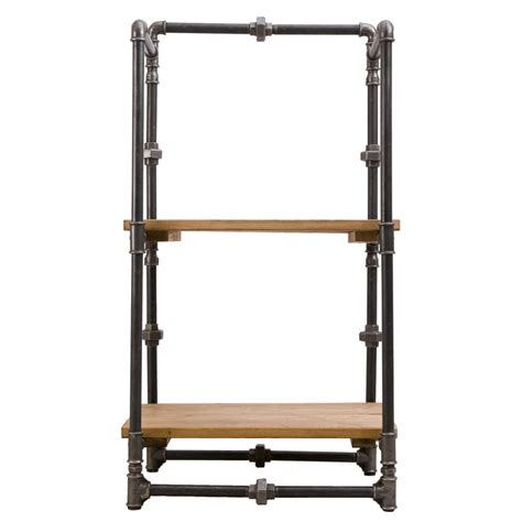 Steel Bookcase steel pipe bookcase woo design