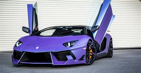 lamborghini purple 2017 dmc lamborghini aventador is a raging purple