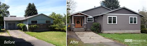 home curb appeal before and after increase your curb appeal