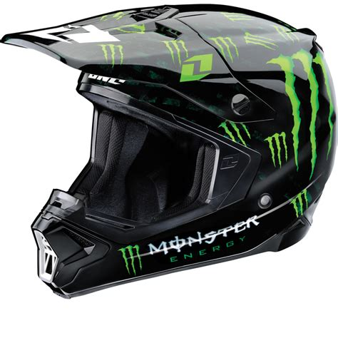 motocross gear monster one industries gamma monster energy motocross helmet