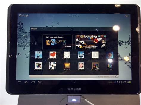 Tablet Samsung Keluaran Pertama pandang pertama samsung galaxy tab 2 10 1 dengan sandwich amanz