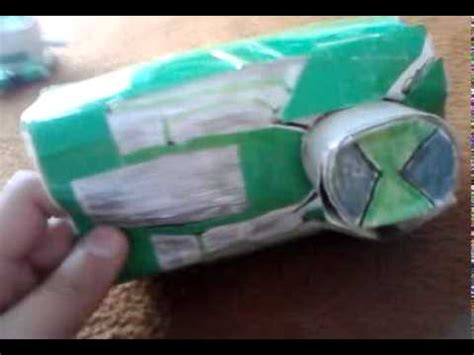 How To Make A Paper Ben 10 - ben 10 paper omnitrix and ultimatrix