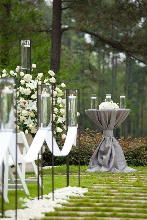 Wedding Aisle With Tables by 17 Best Images About Unity Table Ideas On